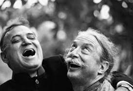 Lachende Männer
