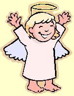 Lachender Engel